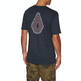 Volcom Radiation Bsc Ss , Kortermet t-skjorte - Navy