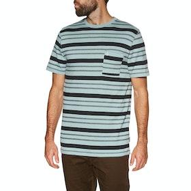 Volcom Rhodes Crew , Kortermet t-skjorte - Cool Blue