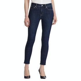Lauren Ralph Lauren Premier Skinny Ankle Women's Jeans - Dark Worn Wash