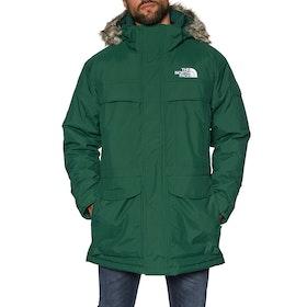 North Face McMurdo Parka Down Jacket - Night Green