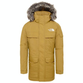 North Face McMurdo Parka Down Jacket - British Khaki