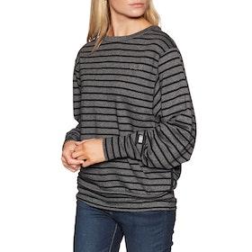 O'Neill Essential Stripe Crew Sweater - Black