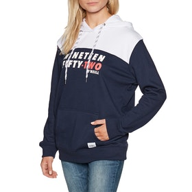 O'Neill Indra Pullover Hoody - Blue White