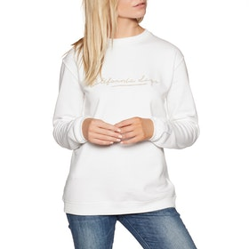 O'Neill Ruby Cali Crew Sweater - Powder White