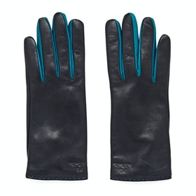 Paul Smith Col Contrast Gloves - Navy
