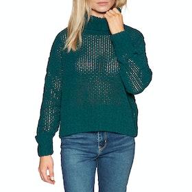 Billabong Cherry Moon Womens Sweater - Deep Jade