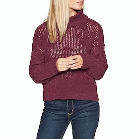 Billabong Cherry Moon Womens Sweater - Ruby Wine