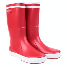 Aigle Lolly Pop Girls Wellingtons - Red