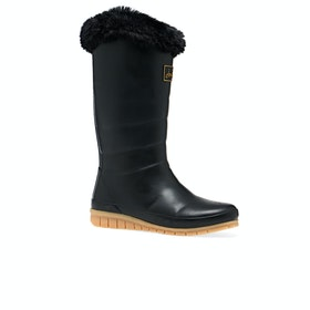 Joules Downton Womens Wellies - Black
