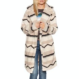 Billabong Montreal Longline Womens Fleece - Neutral