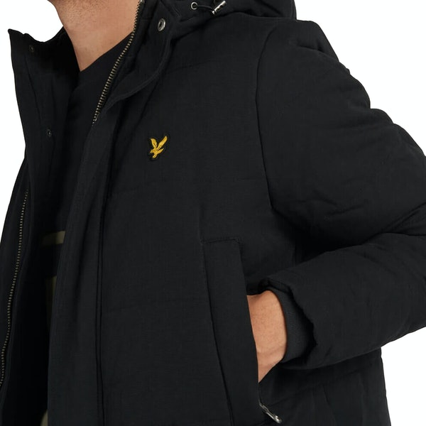 Lyle & Scott Wadded Longline Jacket