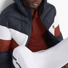 Lyle & Scott Colour Block Puffa Jacket