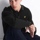 Lyle & Scott Knitted Ls Polo , Knits Mäns