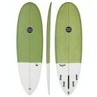Maluku Flying Frog Eco FCS II 5 Fin Surfboard