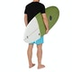 Maluku Flying Frog Eco FCS II 5 Fin Surfboard