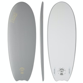 Spooked Kooks Batrat Twin Surfboard - Pretty Much Grey