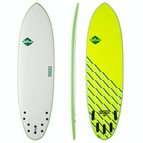 Softech Brainchild FCS II 5 Fin Surfboard - Green Wave