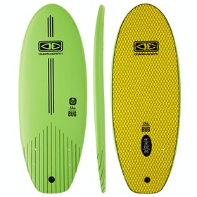 Ocean and Earth The Bug Twin Fin Surfboard - Lime