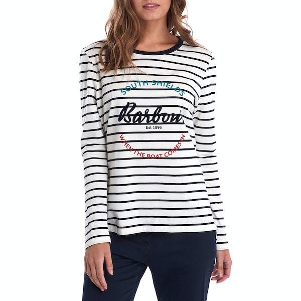 Barbour Shoreward Women's Long Sleeve T-Shirt