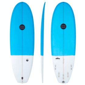 Maluku The Shake FCS II 5 Fin Surfboard - Blue