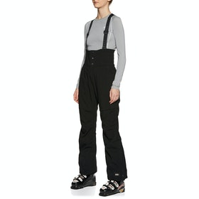 O'Neill High Waist Bib Snow Pant - Black Out