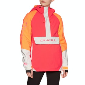 O'Neill Original Anorak Snow Jacket - Neon Flame
