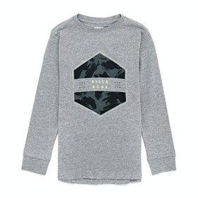 T-Shirt à Manche Longue Billabong Access - Grey Heather