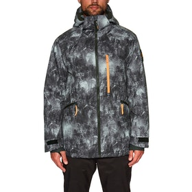O'Neill Diabase Snow Jacket - Black Aop