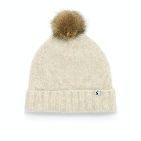 Joules Snugwell Ladies Hat - Cream