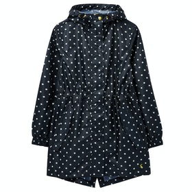 Joules Golightly Dames Jas - Navy Spot