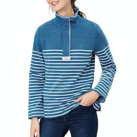 Joules Saunton Salt セーター - Blue Cream Stripe