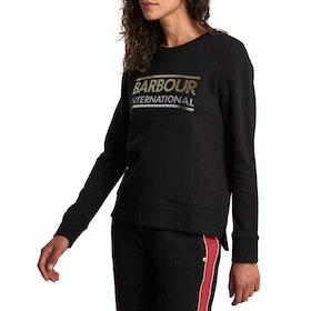 Barbour International Relay Overlayer Women's Sweater - Black