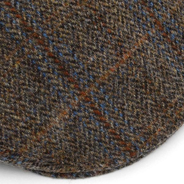 Christys Hats Harris Tweed Balmoral Lue