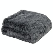 Country Attire Faux Fur Throw