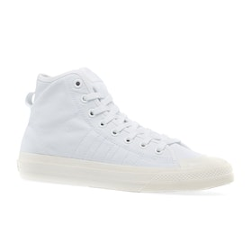 Adidas Originals Nizza Hi Rf Shoes - Ftwr White
