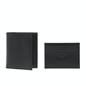Gift Set Christys Hats Finsbury And Hyde Wallet & Card Holder - Black Red