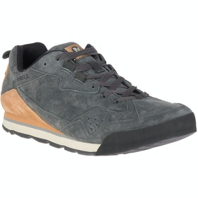 Merrell Burnt Rock Tura Suede Trainers - Granite