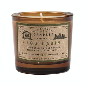 United by Blue Out-of-doors Candle - Log Cabin