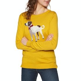 Joules Miranda Women's Sweater - Gold Terrier