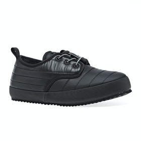 Holden Puffy Slippers - Black