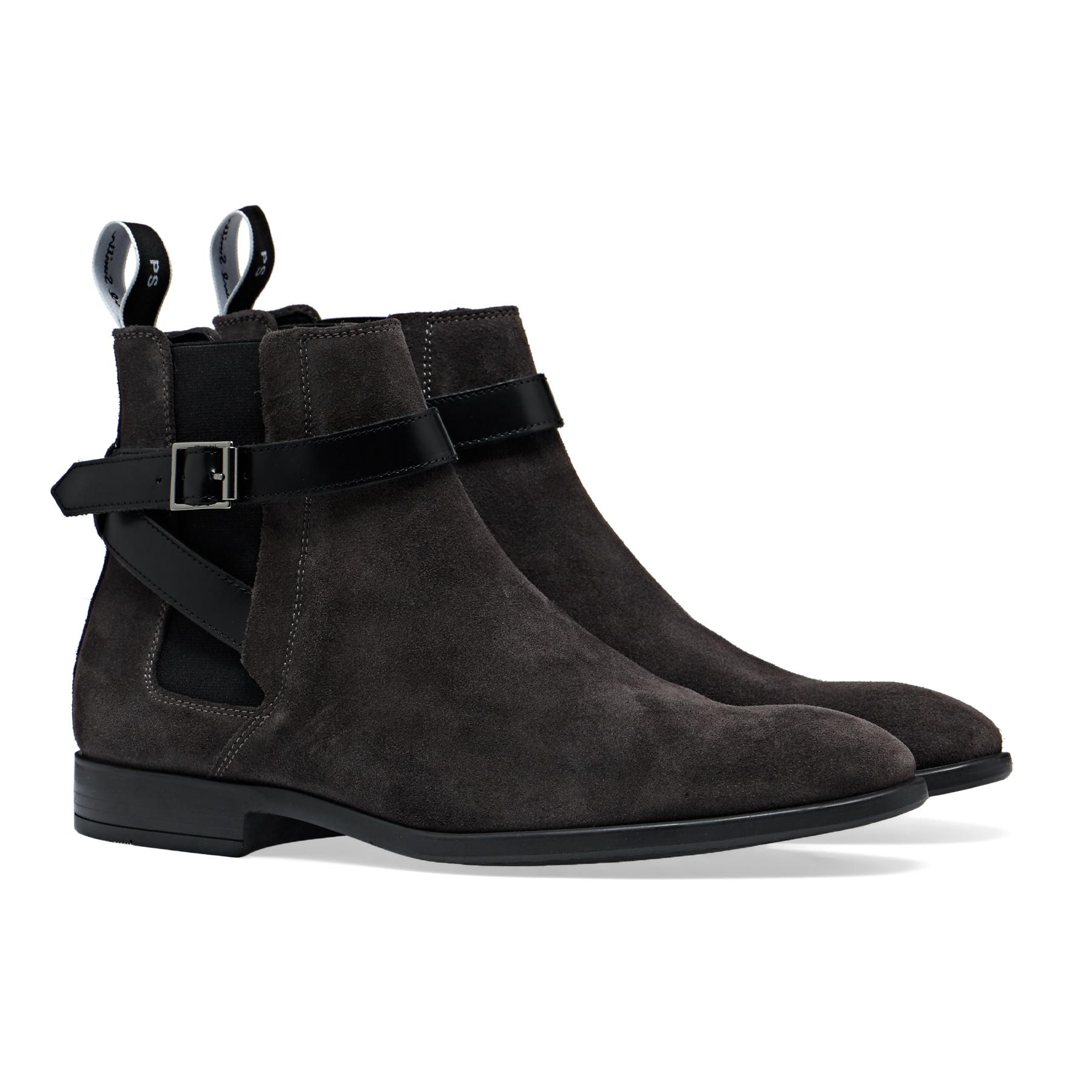 Paul Smith Harrow Boots - Grey