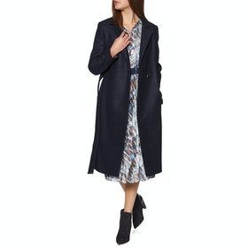 Ted Baker Chelsyy Boiled Wool Wrap Womens Bunda - Dark Blue