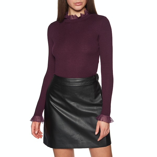 Knits Donna Ted Baker Dvana Frill Neck Detail