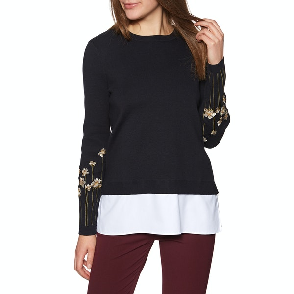 Ted Baker Evetta Pearl Embroidered Mockable Women's Knits