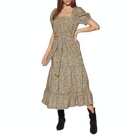 Free People Heartlands Maxi Women's Dress - Black Combo