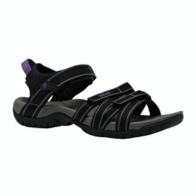 Teva Tirra Ladies Sandals - Black Grey