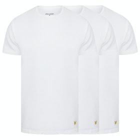 Abbigliamento da Casa Lyle & Scott 3 Pack Maxwell - White