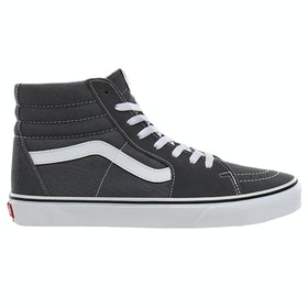 Chaussures Vans Sk8 Hi - Pewter True White