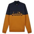 Sweater Homen Lyle & Scott x Diadora Printed Logo Half Zip