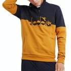 Lyle & Scott x Diadora Printed Logo Half Zip Men's Sweater